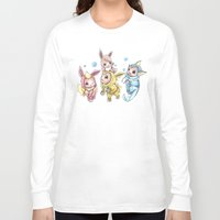 projectrocket Long Sleeve T-shirts featuring Bursting Bubbles by Randy C