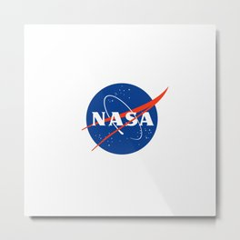 Logo of Nasa 1 Metal Print