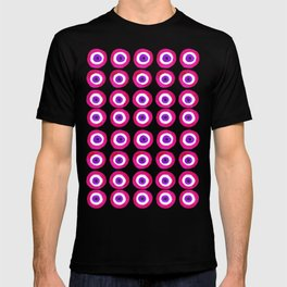 Evil Eye Amulet Talisman in Pink T-shirt