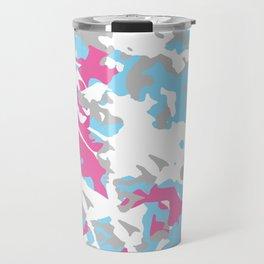 LGBT Light Pastel Urban Camouflage Travel Mug