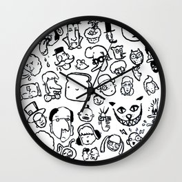 Comic Sans Wall Clock