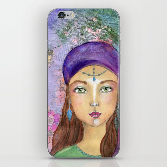Fortune teller iPhone & iPod Skin