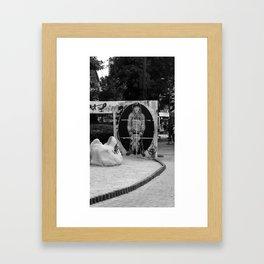 the way i am Framed Art Print
