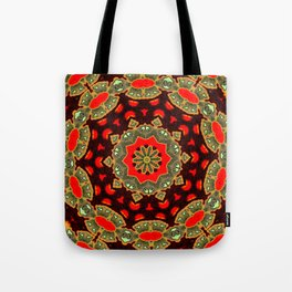 The Apple Swirl  Tote Bag