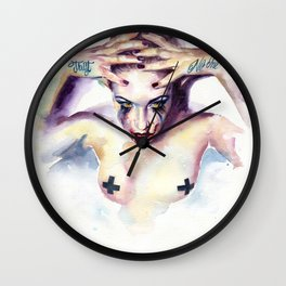 Trust noone Wall Clock
