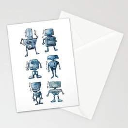 We Are All Robots Stationery Cards