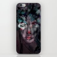 fairy iPhone & iPod Skins featuring fairy by Irmak Akcadogan