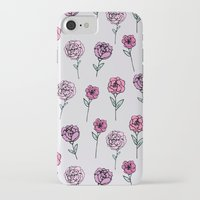 peonies iPhone & iPod Cases featuring Peonies by Abby Galloway