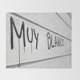Blank Slate Throw Blanket