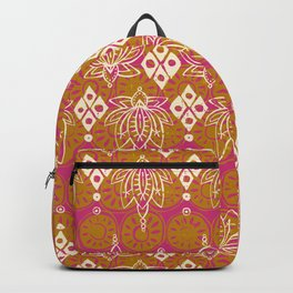 lotus diamond pink Backpack