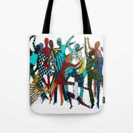 Dancing your own step Tote Bag
