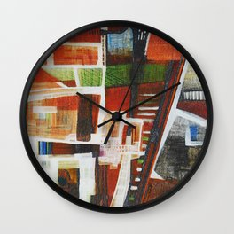 Urban myst Wall Clock