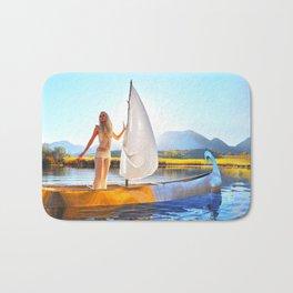 Light Sets Sail Bath Mat