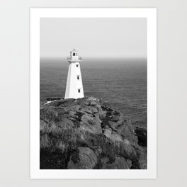 Cape Spear Lighthouse No.4 Art Print