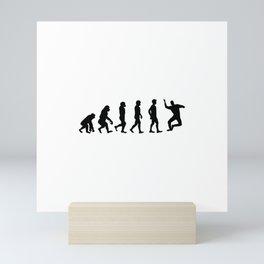 Seb Evolution Meme Celebration Mini Art Print