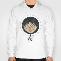 Hoodies featuring Lotus by Hector Mansilla