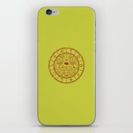 Gravity Falls Bill Cipher Wheel- disorderd iPhone Skin