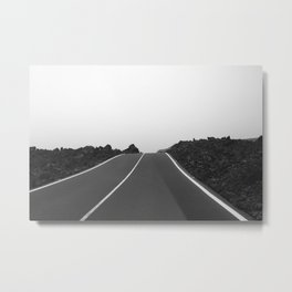 Road End Metal Print