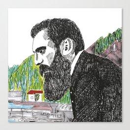 Theodor Herzl - Basel Canvas Print