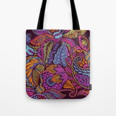Paisley Dreams - sunset colors Tote Bag