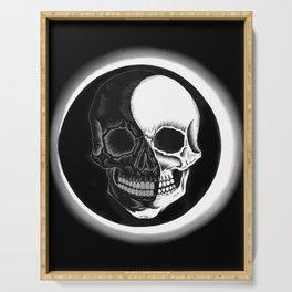 Eclipsed Skull Serving Tray