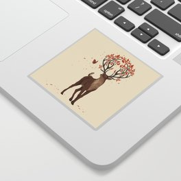 The Forest Guardian Sticker