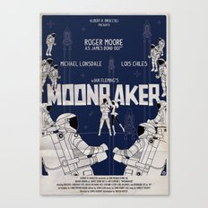 MOONRAKER Canvas Print