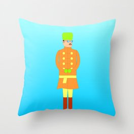 The Russian (II) Throw Pillow