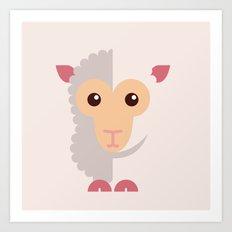 Mr Goath Art Print