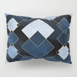 Blue Nebula Pillow Sham