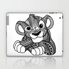 Zentangle Simba Laptop & iPad Skin