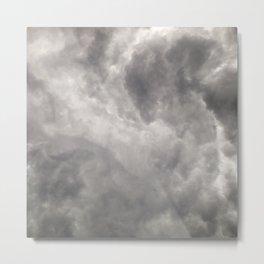 #268 Stormy African Clouds Metal Print
