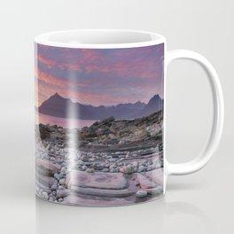 III - Spectacular sunset at the Elgol beach, Isle of Skye, Scotland Coffee Mug