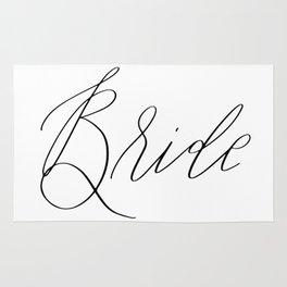 Lettered Bride Rug