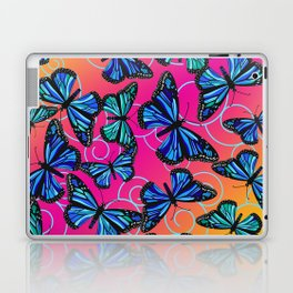 Cool Monarchs at Sunset Laptop & iPad Skin