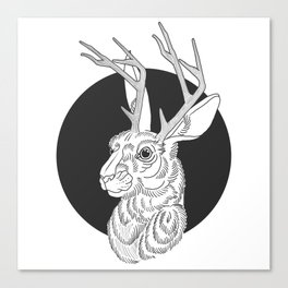 The Jackelope Canvas Print