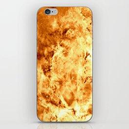 Gold Nebula iPhone Skin