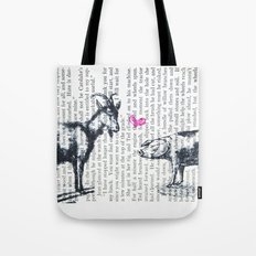 Goat Pig Love Tote Bag