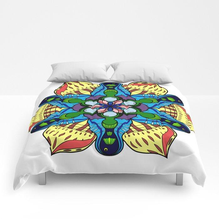 Symmetrical Sea Comforters