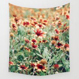 TEXAS WILDFLOWERS Wall Tapestry
