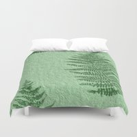 fern Duvet Covers featuring Fern by Mr and Mrs Quirynen