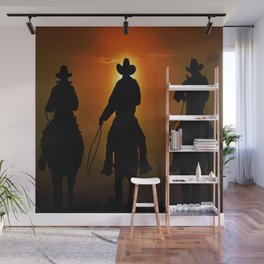 Riders To The West Wall Mural