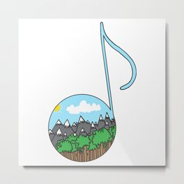 Sound of nature Metal Print
