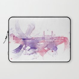PDX watercolor 1 Laptop Sleeve
