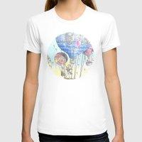 hot air balloon T-shirts featuring Hot air balloon party by Dreamy Me