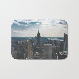 NEW YORK - CITY MANHATTAN - EMPIRE STATE BUILDING - PHOTOGRAPHY Bath Mat