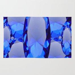 SEPTEMBER BLUE SAPPHIRE GEMS BIRTHSTONES Rug