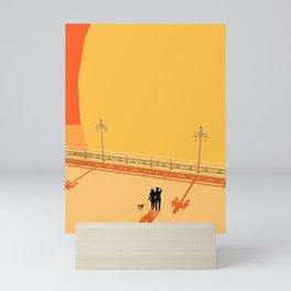 Brighton Sun Blast Mini Art Print