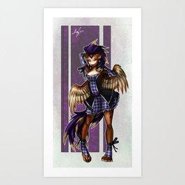 Mardi Aubrin Art Print