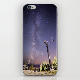 Chairlift  iPhone Skin